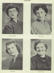 Page 9, 1951 Edition, Thornburg High School - Orange and Black Yearbook (Thornburg, IA) online yearbook collection