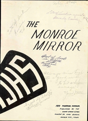 Page 3, 1950 Edition, Monroe Middle School - Mirror Yearbook (Mason City, IA) online yearbook collection