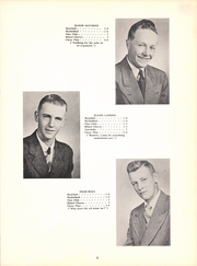 Page 9, 1950 Edition, Bradgate High School - Hawk Yearbook (Bradgate, IA) online yearbook collection