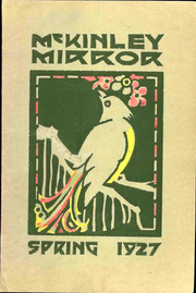 Page 1, 1927 Edition, McKinley Middle School - Mirror Yearbook (Cedar Rapids, IA) online yearbook collection