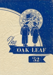 1952 Edition, Oak Park Academy - Oak Leaf Yearbook (Nevada, IA)