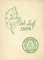 1954 Edition, Oak Park Academy - Oak Leaf Yearbook (Nevada, IA)