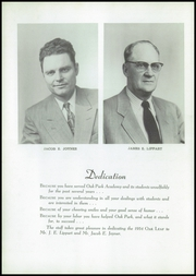 Page 8, 1954 Edition, Oak Park Academy - Oak Leaf Yearbook (Nevada, IA) online yearbook collection