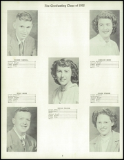 Page 12, 1952 Edition, Cambria High School - Comet Yearbook (Cambria, IA) online yearbook collection