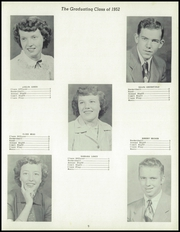 Page 13, 1952 Edition, Cambria High School - Comet Yearbook (Cambria, IA) online yearbook collection