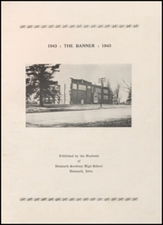 Page 5, 1943 Edition, Denmark Academy High School - Banner Yearbook (Denmark, IA) online yearbook collection