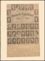 Page 2, 1951 Edition, Denmark Academy High School - Banner Yearbook (Denmark, IA) online yearbook collection