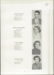 Page 13, 1952 Edition, Fernald High School - Echo Yearbook (Fernald, IA) online yearbook collection