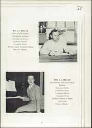 Page 9, 1952 Edition, Fernald High School - Echo Yearbook (Fernald, IA) online yearbook collection