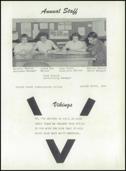 Page 7, 1957 Edition, Garden Grove High School - Viking Yearbook (Garden Grove, IA) online yearbook collection