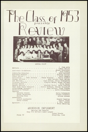 Page 9, 1953 Edition, Kingsley High School - Review Yearbook (Kingsley, IA) online yearbook collection