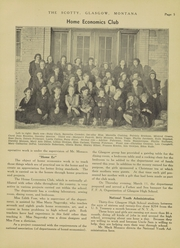 Page 11, 1937 Edition, Glasgow High School - Hootman Yearbook (Glasgow, MT) online yearbook collection