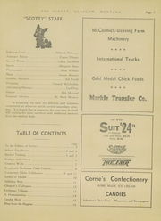 Page 7, 1937 Edition, Glasgow High School - Hootman Yearbook (Glasgow, MT) online yearbook collection