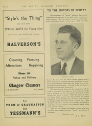 Page 8, 1937 Edition, Glasgow High School - Hootman Yearbook (Glasgow, MT) online yearbook collection