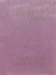 Page 1, 1941 Edition, Mapleton High School - Rambler Yearbook (Mapleton, IA) online yearbook collection