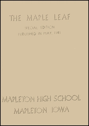 Page 3, 1941 Edition, Mapleton High School - Rambler Yearbook (Mapleton, IA) online yearbook collection