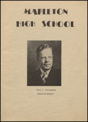Page 3, 1946 Edition, Mapleton High School - Rambler Yearbook (Mapleton, IA) online yearbook collection