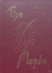Page 1, 1948 Edition, Mapleton High School - Rambler Yearbook (Mapleton, IA) online yearbook collection