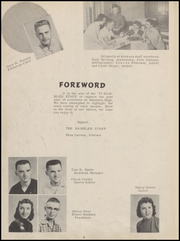 Page 6, 1957 Edition, Mapleton High School - Rambler Yearbook (Mapleton, IA) online yearbook collection