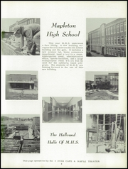 Page 7, 1959 Edition, Mapleton High School - Rambler Yearbook (Mapleton, IA) online yearbook collection