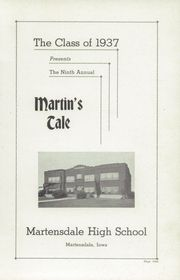 Page 3, 1937 Edition, Martensdale High School - Martins Tale Yearbook (Martensdale, IA) online yearbook collection