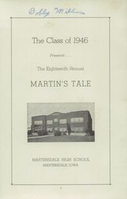 Page 3, 1946 Edition, Martensdale High School - Martins Tale Yearbook (Martensdale, IA) online yearbook collection