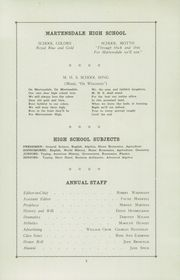 Page 7, 1946 Edition, Martensdale High School - Martins Tale Yearbook (Martensdale, IA) online yearbook collection