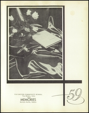 Page 5, 1959 Edition, Van Meter High School - Memories Yearbook (Van Meter, IA) online yearbook collection