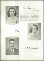 St Paul High School - Conqueror Yearbook (Worthington, IA) online yearbook collection, 1949 Edition, Page 48