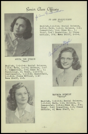 Page 10, 1948 Edition, New Sharon High School - Golden Eagle Yearbook (New Sharon, IA) online yearbook collection
