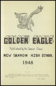 Page 5, 1948 Edition, New Sharon High School - Golden Eagle Yearbook (New Sharon, IA) online yearbook collection