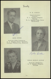 Page 8, 1948 Edition, New Sharon High School - Golden Eagle Yearbook (New Sharon, IA) online yearbook collection