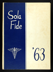 1963 Edition, Iowa Lutheran Hospital School of Nursing - Sola Fide Yearbook (Des Moines, IA)