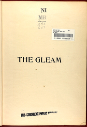 Page 15, 1908 Edition, William Chrisman High School - Gleam Yearbook (Independence, MO) online yearbook collection