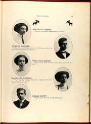 Page 17, 1909 Edition, William Chrisman High School - Gleam Yearbook (Independence, MO) online yearbook collection