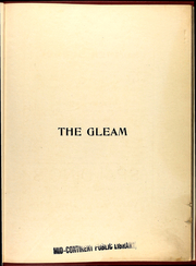 Page 9, 1909 Edition, William Chrisman High School - Gleam Yearbook (Independence, MO) online yearbook collection