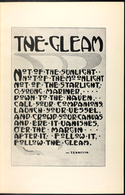 Page 13, 1912 Edition, William Chrisman High School - Gleam Yearbook (Independence, MO) online yearbook collection