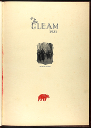 Page 5, 1931 Edition, William Chrisman High School - Gleam Yearbook (Independence, MO) online yearbook collection