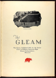 Page 7, 1931 Edition, William Chrisman High School - Gleam Yearbook (Independence, MO) online yearbook collection