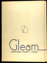 Page 6, 1934 Edition, William Chrisman High School - Gleam Yearbook (Independence, MO) online yearbook collection