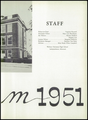 Page 7, 1951 Edition, William Chrisman High School - Gleam Yearbook (Independence, MO) online yearbook collection