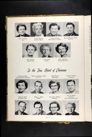 Page 16, 1953 Edition, William Chrisman High School - Gleam Yearbook (Independence, MO) online yearbook collection