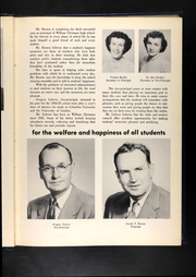 Page 13, 1955 Edition, William Chrisman High School - Gleam Yearbook (Independence, MO) online yearbook collection
