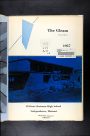 Page 5, 1957 Edition, William Chrisman High School - Gleam Yearbook (Independence, MO) online yearbook collection