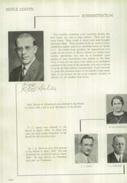 Page 12, 1936 Edition, Maplewood Richmond Heights High School - Maple Leaves Yearbook (Maplewood, MO) online yearbook collection