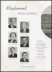 Page 12, 1941 Edition, Maplewood Richmond Heights High School - Maple Leaves Yearbook (Maplewood, MO) online yearbook collection