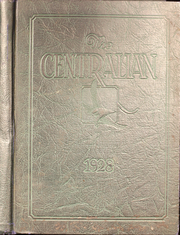 Page 1, 1928 Edition, Central High School - Centralian Yearbook (Kansas City, MO) online yearbook collection