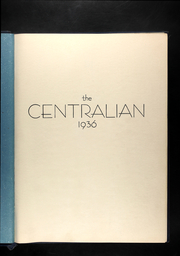 Page 5, 1936 Edition, Central High School - Centralian Yearbook (Kansas City, MO) online yearbook collection