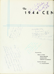 Page 6, 1944 Edition, Central High School - Centralian Yearbook (Kansas City, MO) online yearbook collection