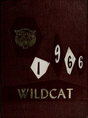 1966 Edition, Dade County High School - Wildcat Yearbook (Trenton, GA)